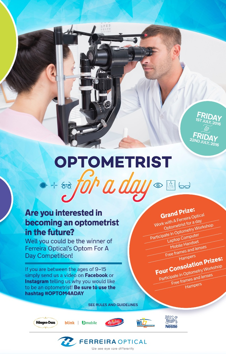 Optometrist For A Day Competition